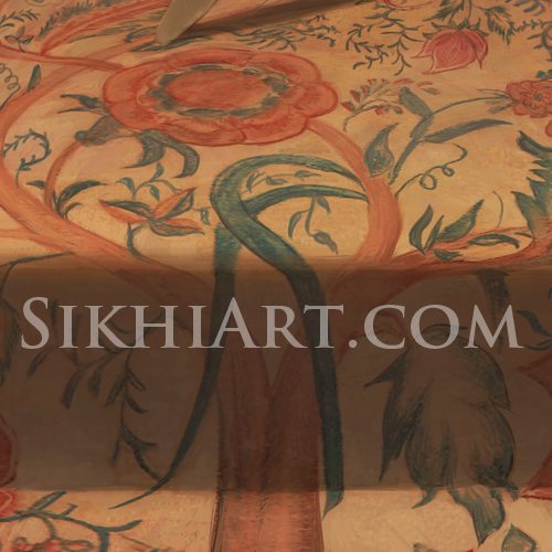 Tree of life Motif, painting of Hari Singh Nalwa