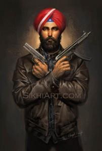 Super Sikh, Bhagat Singh Bedi, Sikhi Art, Agent Deep Singh, Eileen Alden