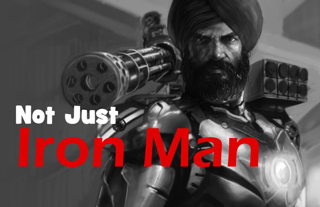 Iron Man, Singh, Sikh Warrior, Sikh Painting, Punjab Art, Bhagat Singh, Sikhi Art