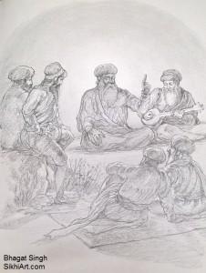 Guru Nanak Dev ji, Guru Nanak, Bhai Mardana, sikh