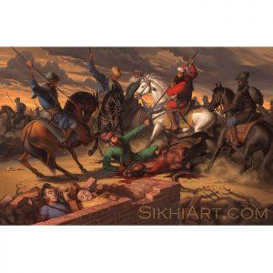 Banda Singh ji Bahadur Avenges Chotte Sahibzadey