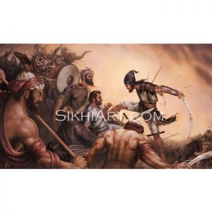 Battle of Chamkaur - Sahibzada Ajit Singh ji