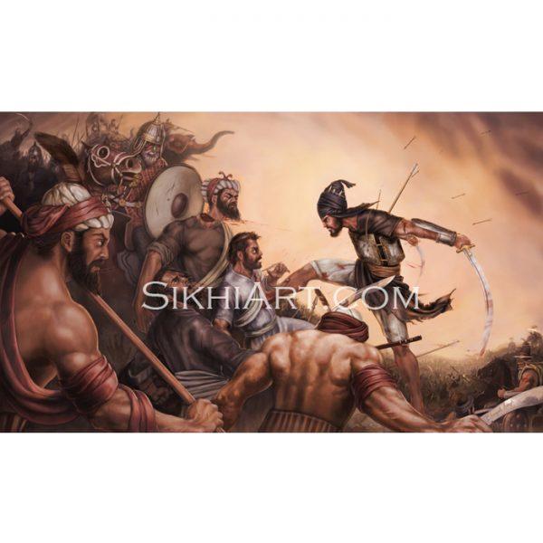 Battle of Chamkaur - Sahibzada Ajit Singh ji
