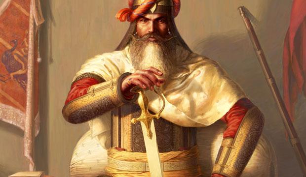 Hari Singh Nalwa, Sikh Art, Sikh Painting, Maharaja Ranjit Singh, Sikh raj Sikhi Art, Art of Punjab,