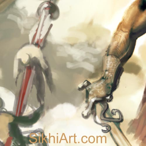 Impaled Bodies, Prince of Patiala, Punjabi Warrior, Warrior, Sikh warrior, Turban, Dastaar, Khalsa, Sikh Art