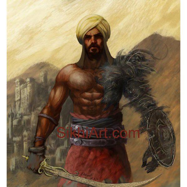 Prince of Patiala | Sikhi Art
