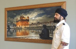 Bhagat Singh Artist, Exhibition, Sikhi Art, Golden Temple, Harmandir Sahib, Punjab, Amritsar, India, Sikh Painting