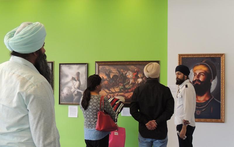 Guru Gobind Singh, Mai Bhago, Banda Singh Bahadur Avenges Chotte Sahibzade, Sikhi Art, Exhibition, Bhagat Singh Bedi, Artist, Sikh Art, Sikh Painting, Punjab Art, Punjabi Paintings