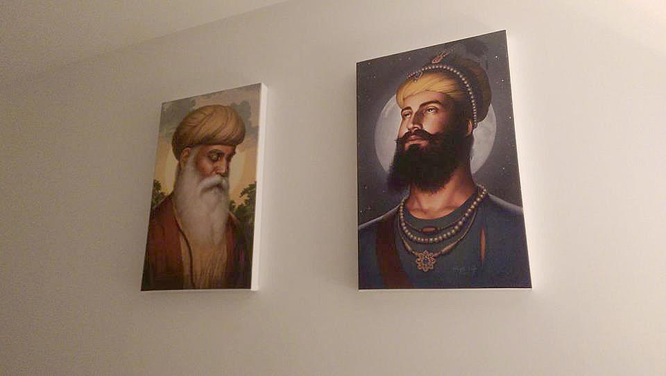 Guru Nanak Dev ji,Guru Gobind Singh ji, Sikhi Art, Bhagat Singh Bedi