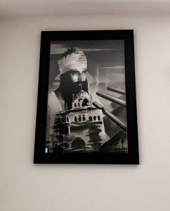Jasmeet Singh Collection - Sant Jarnail Singh Bhindranwale - Bhagat Singh Sikhi Art History of Punjab, Operation Blue Star 1984 Indira Gandhi Sant ji Indian Army Harimandir Sahib Harmandir Sahib Golden Temple Akal Takht Sikh Temple Guru Arjun Dev ji Shaheedi Martyrdom