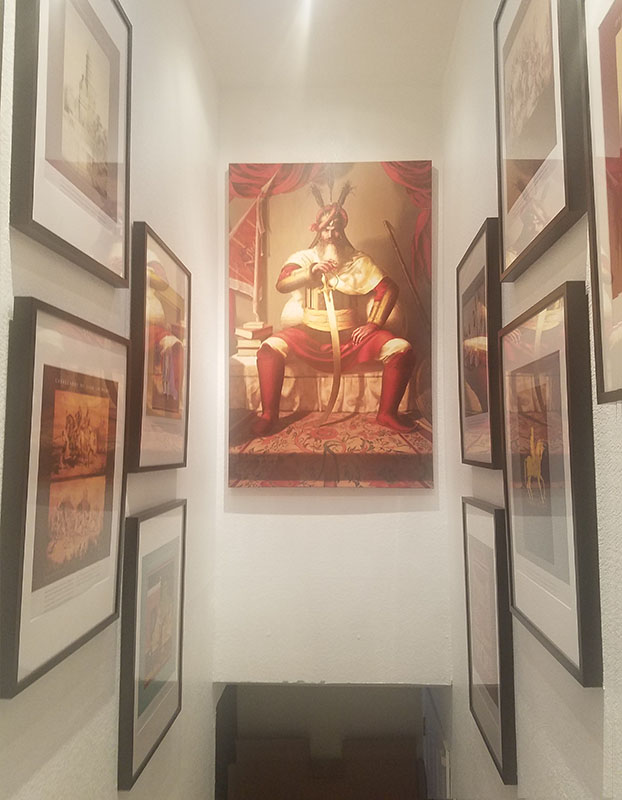 Hari Singh Nalwa - General of Punjab - Bhagat Singh - Sikhi Art - Manjit Dokal collection, Sikh Art Painting of Punjab