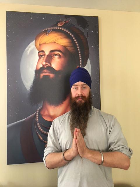 Guru Gobind Singh ji, Dashmesh Pita, Sikh Gurus, Sikh Art of Bhagat Singh, Punjabi Painting, Colletion of Harijot Singh