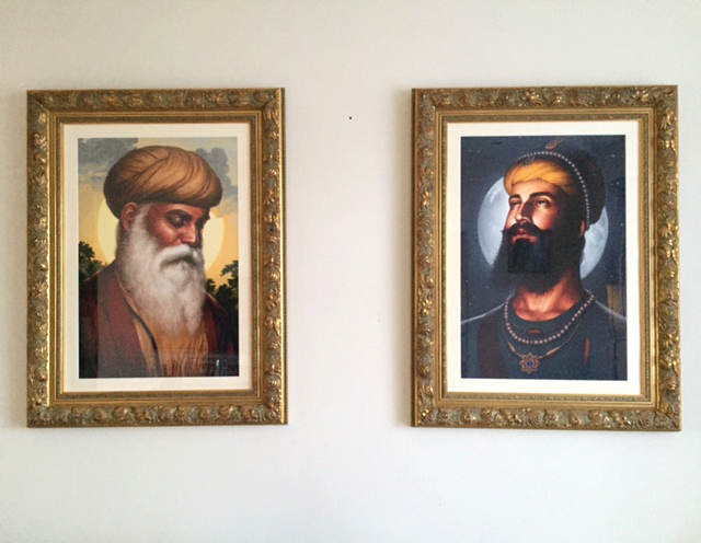Guru Nanak Dev ji, Guru Gobind Singh ji, Bhagat Singh - Sikhi Art, Sikh Paintings of Gurus, Collection of Gopi C