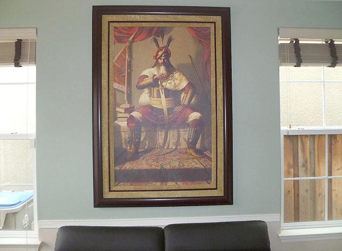 Hari Singh ji Nalwa, Lion of Punjab, Sikh History, Bhagat Singh Bedi, Sikhism Paintings, Collector Pav Athwal
