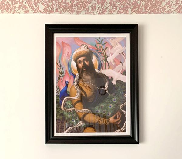 Satvir Singh's Collection - Guru Arjun Dev ji Spiritual Blossoming by Bhagat Singh