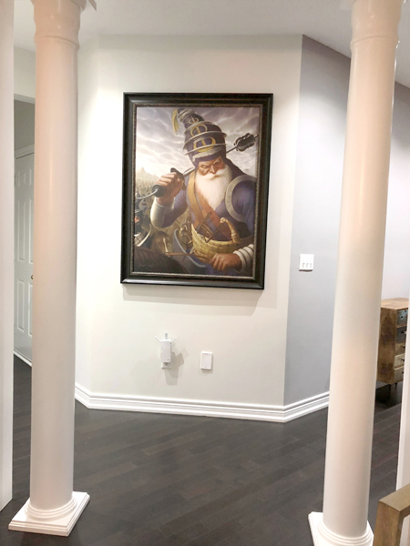 Akali Phula Singh ji - Framed Sikh Prints - Bhagat Singh - Sikhi Art -Jasropp Bains Collection