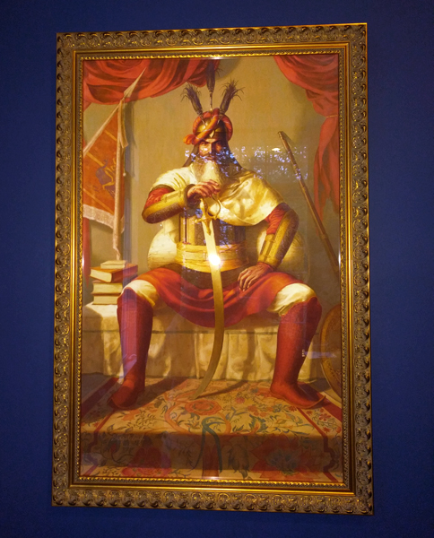 Hari Singh ji Nalwa - Sikh Warrior - Sikh Painting by Bhagat Singh - Sikhi Art - Collection of Gunvir Baveja