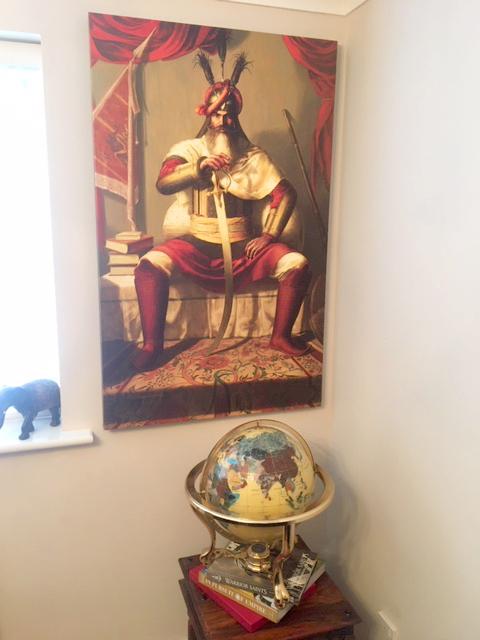 Hari Singh Nalwa, Maharaja Ranjit Singh, Sikh Framed Prints, Art of Sikhism, Punjab, Amritsar, Sardar, Sikh Canvas Art